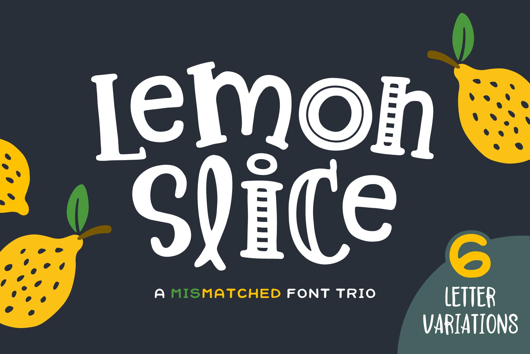 Lemon Slice Font